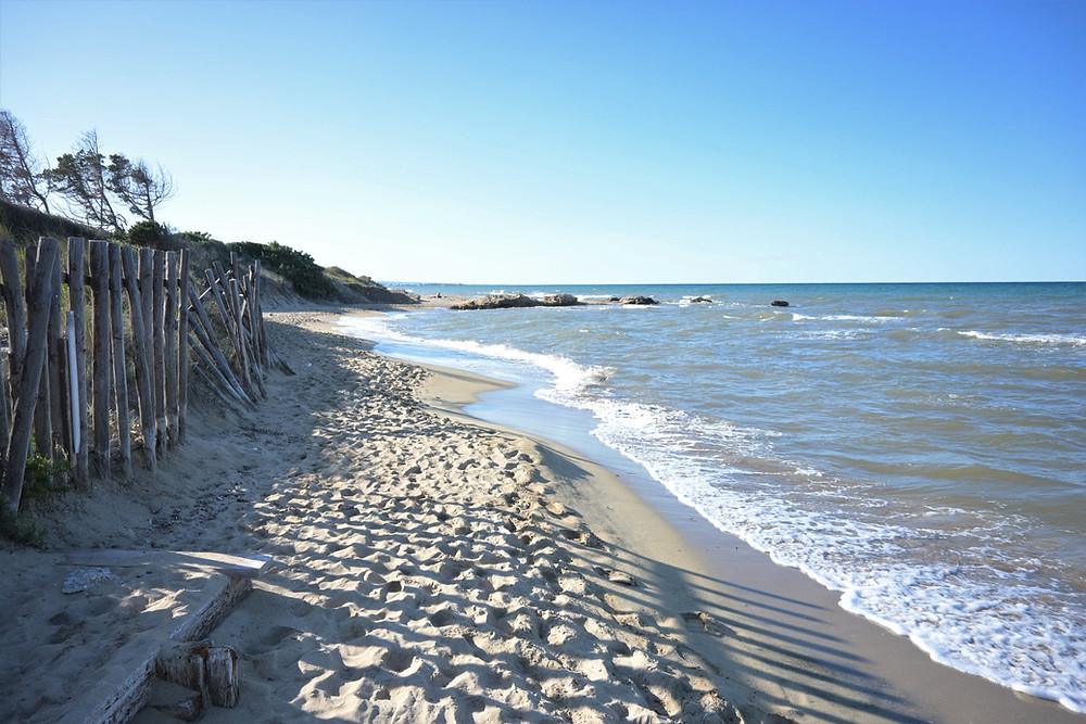 Ostuni beach Puglia-Italy