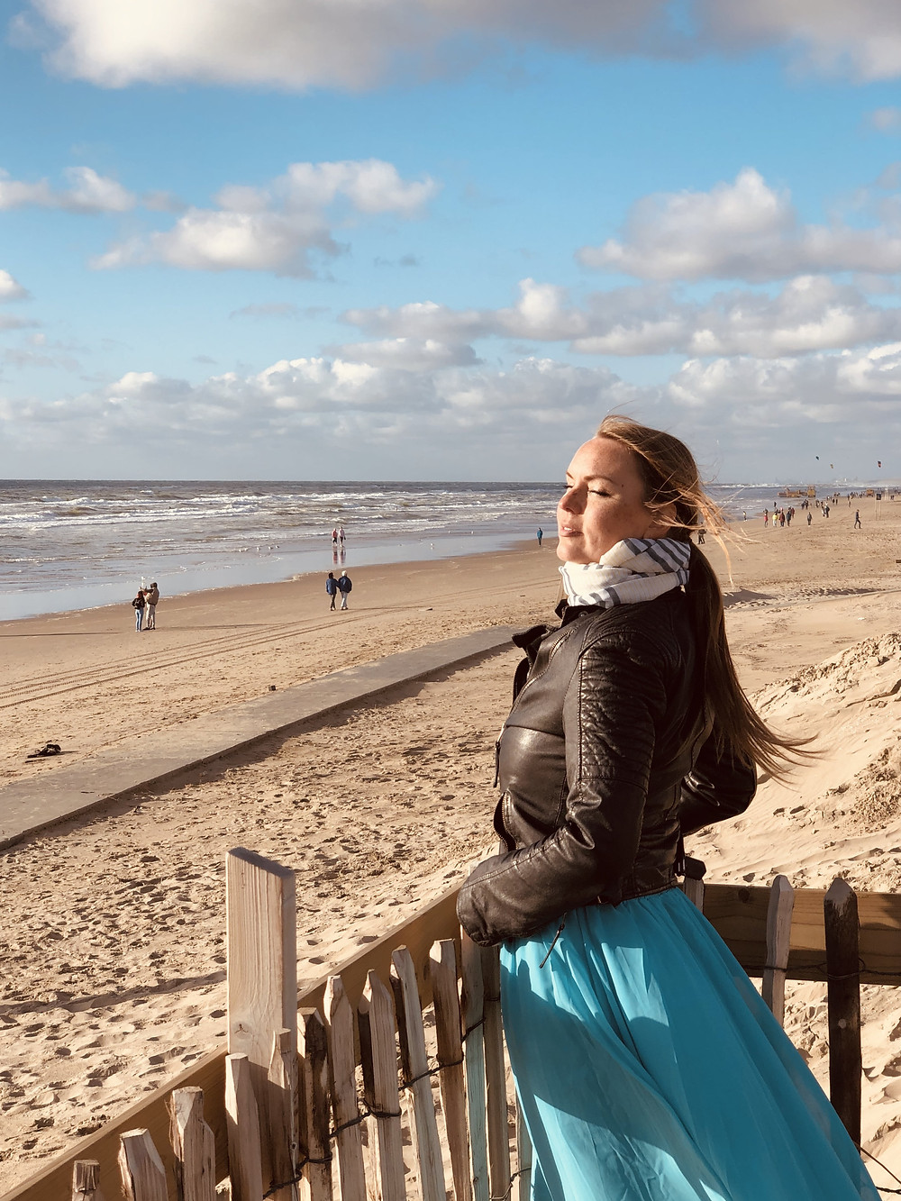 The beach of Noordwijk aan Zee - Netherlands