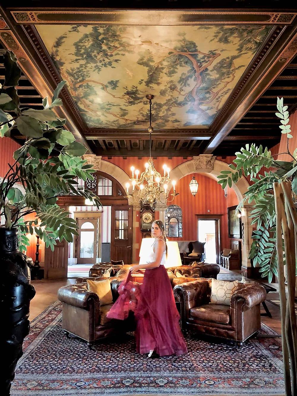 Duin & Kruidberg Hotel lobby Santpoort-Noord-Velsen-Netherlands