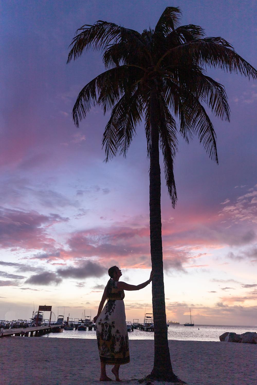 Hadicurari Beach sunset Aruba