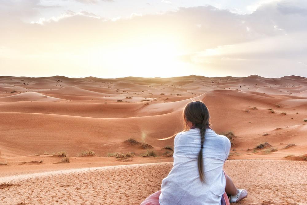 Erg Chebbi Merzouga Moroccan desert sunsets