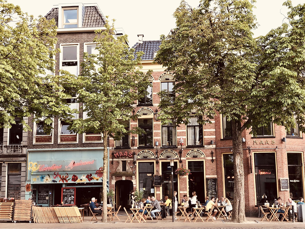 Groningen city terraces-The Netherlands