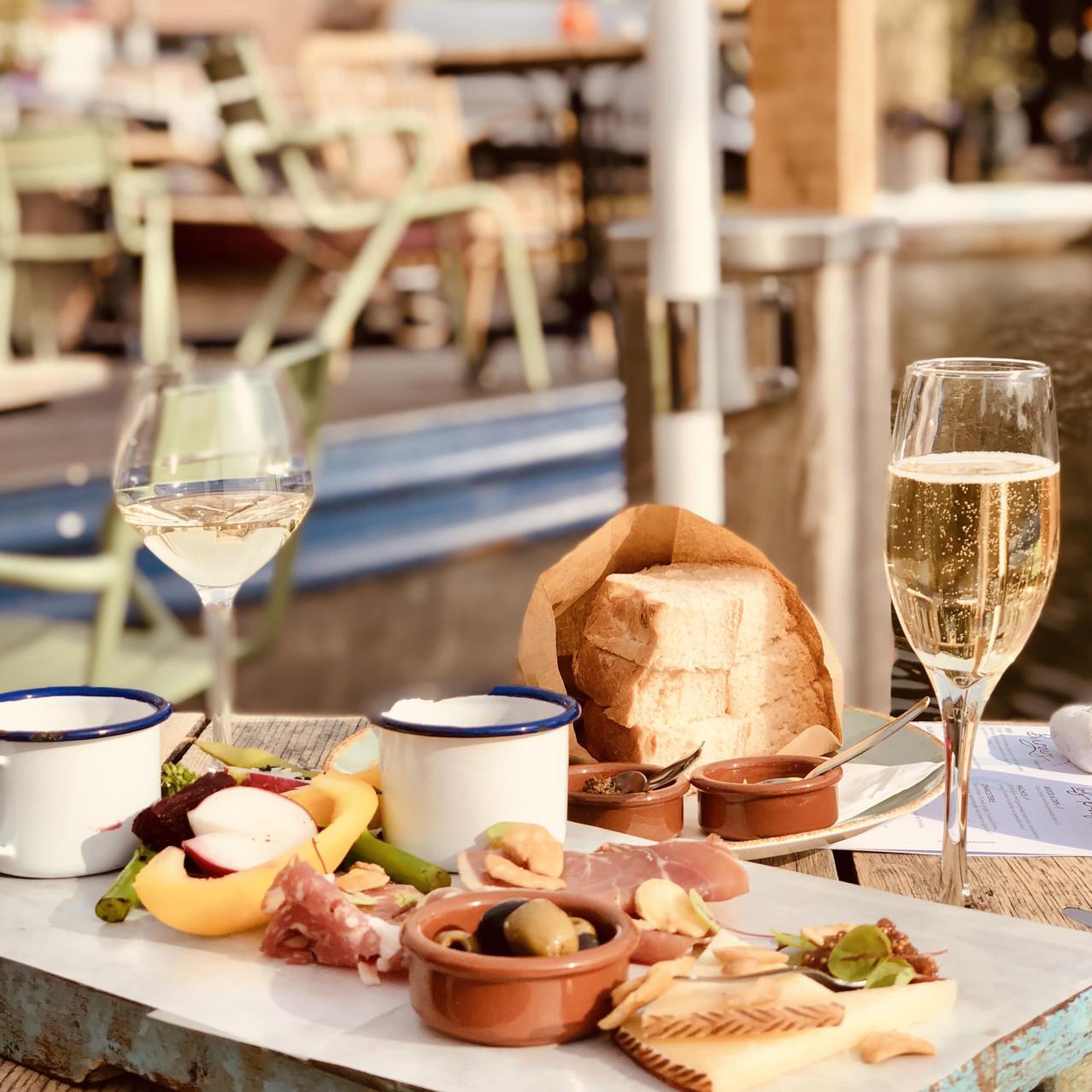 Restaurant Lot & de Walvis sharing plate Leiden Netherlands