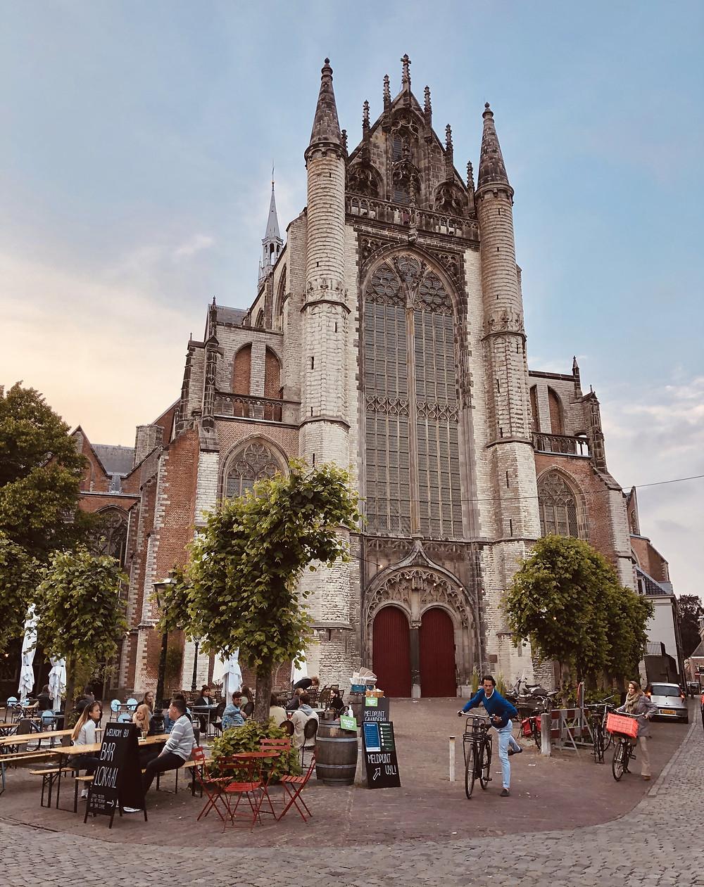 Leiden Pieterskerk Netherlands citytrip staycation