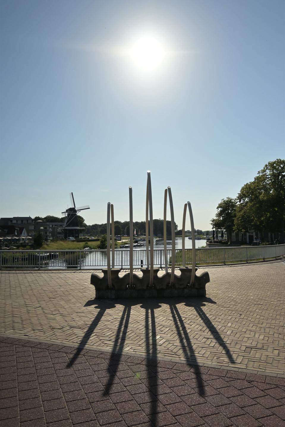 De Vecht river in Ommen - Overijssel - the Netherlands