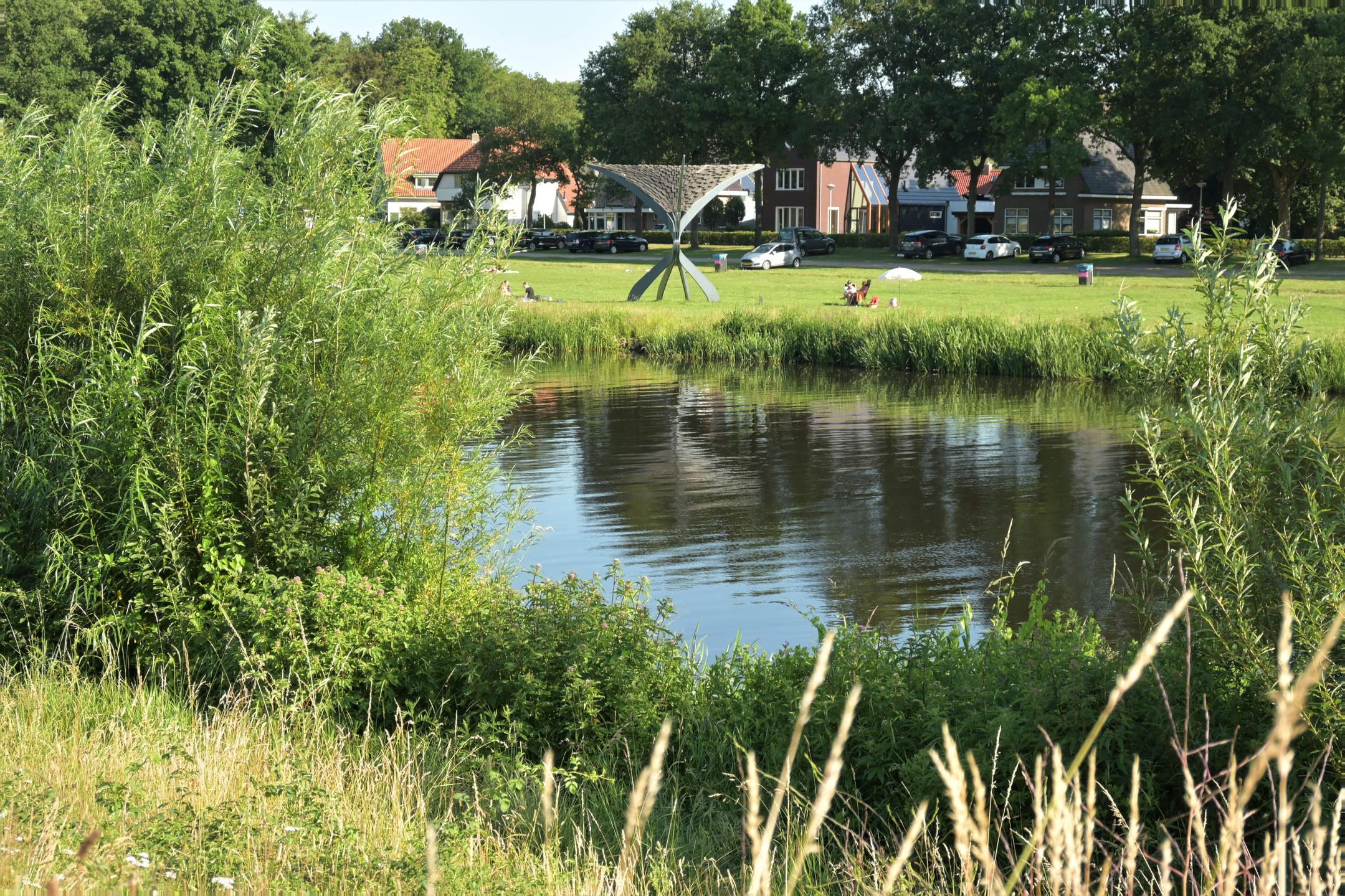 Ommen Vecht river views in Overijssel - the Netherlands