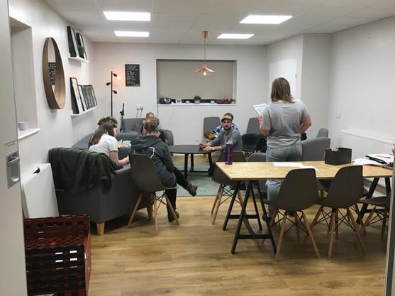 Meetings in the Lounge