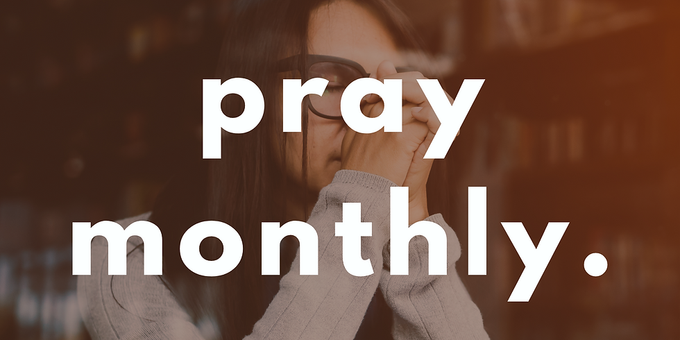 Pray Monthly (28th Oct)