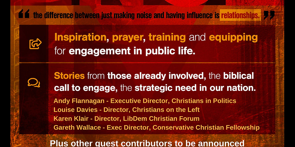 Christians in Politics - Influence Teesside Night