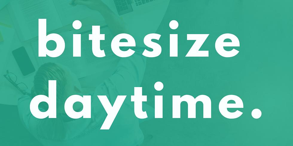Bitesize Daytime (Thursday 30th)