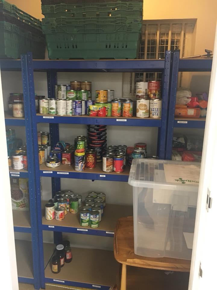 Foodbank Cupboard