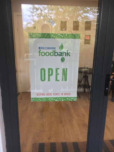 Middlesbrough Foodbank at the Beacon
