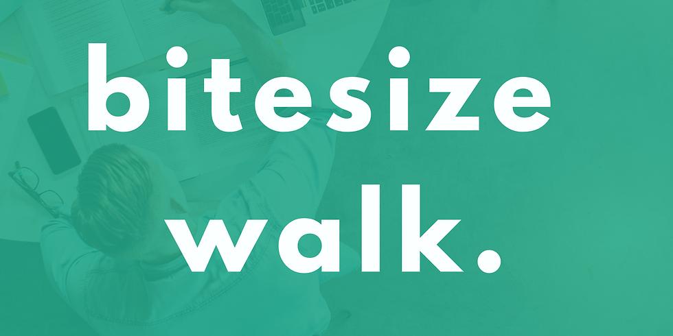 Bitesize Walk (Sunday 27th Sept)