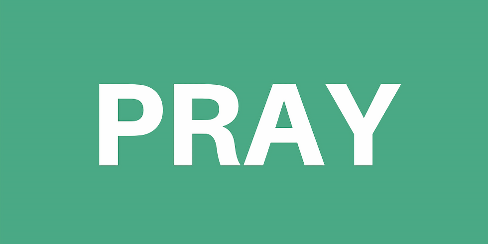 PRAY evening (Feb)