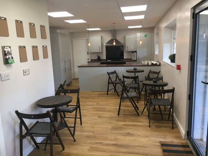 Our amazing Cafe Area