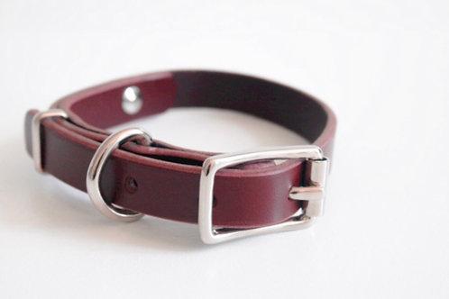 Sugar Maple Leather Collar
