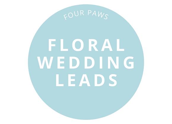 Floral Wedding Lead