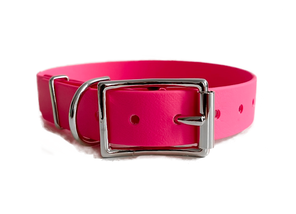 Strawberries and Cream Biothane Collar