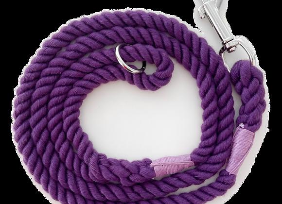 Cherry Ripple Rope Lead