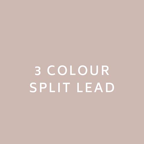 3 Colour Split Lead