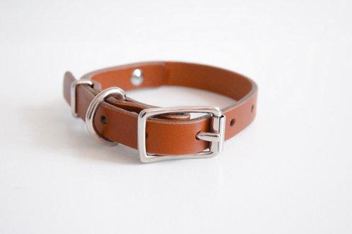 Sweet Birch Leather Collar