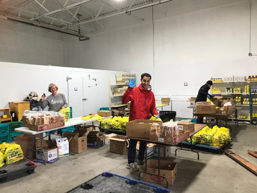 ROTARIANS TACKLE FOOD SECURITY DURING COVID-19