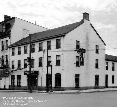 1921 Br. Amer. Hotel taken 1959_G. Lille