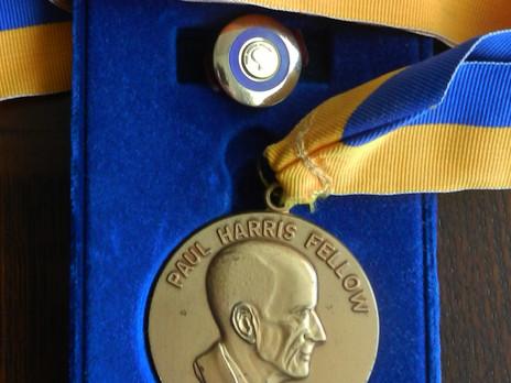 ROTARY FOUNDATION & PAUL HARRIS FELLOWSHIP AWARDS