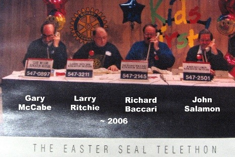 ROTARY'S EARLY SERVICE PROJECTS