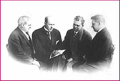 First Rotarians incl Paul Harris