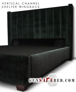 The Vertical Channel Shelter Wingback Gu