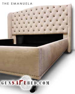 The Emanuela Gunsafe Bed