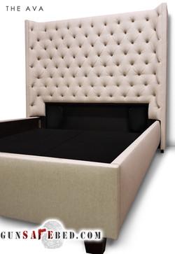 The Ava Gunsafe Bed