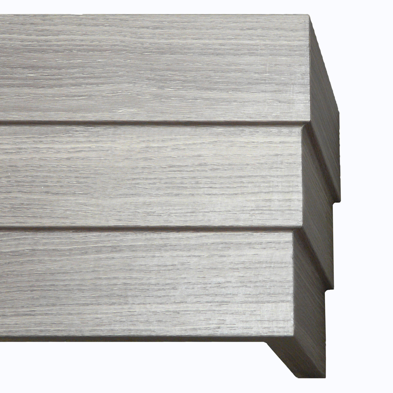 Stairstep Gray Wood Grain