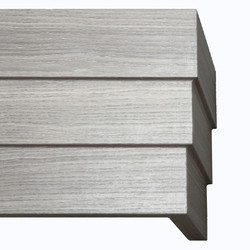 Stairstep Gray Wood Grain