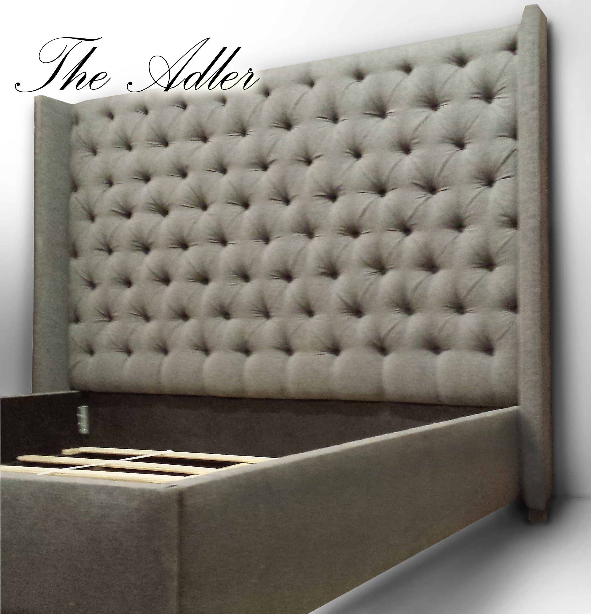 Custom Headboards Beds Wall Panels Tall Tufted Modern