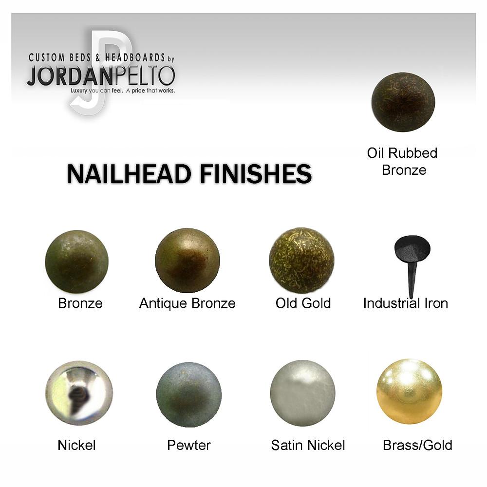 Nailhead Finishes