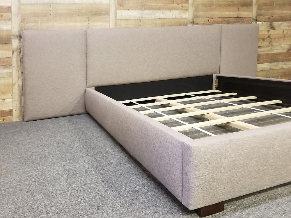 Rectangular Upholstered Panel Headboard