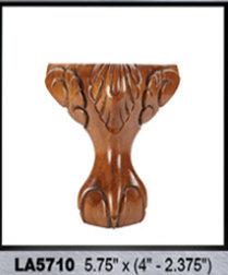 Wooden Claw Leg