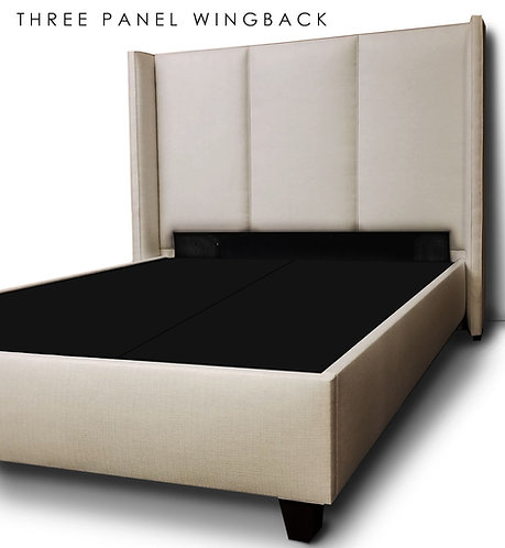 Three Panel Wingback Headboard