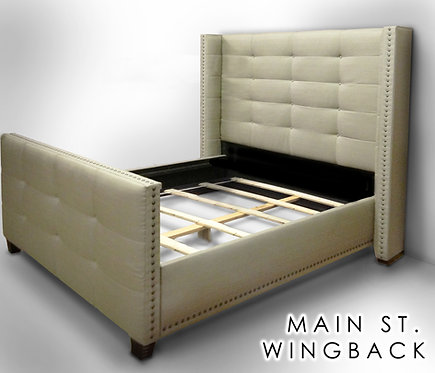 The Main Street Wingback