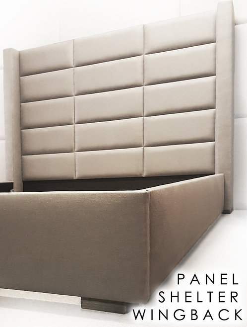 The Panel Shelter Wingback