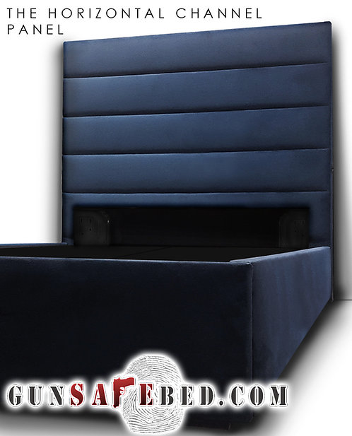 The Horizontal Channel Panel Gunsafe Headboard