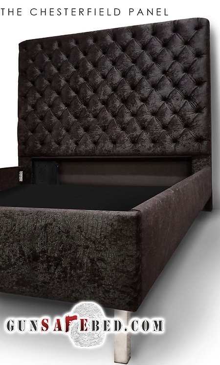 The Chesterfield Panel Gunsafe Headboard