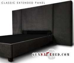 The Classic Extended Panel Gunsafe Bed