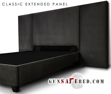 The Classic Extended Panel Gunsafe Headboard