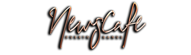 Newscafe Logo 2019 JAN metallic render L