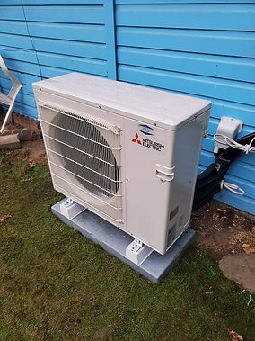 Mitsubishi Electric, Installation, Install, HVAC Installation,Outdoor AC Unit, Grants Pass Heating and Air