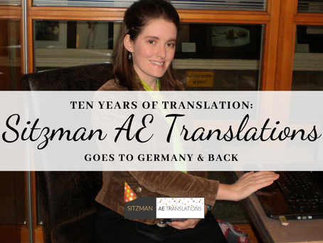 Sitzman AE Translations Goes to Germany & Back