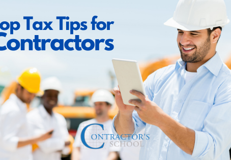 Our Top Tax Tips for Contractors